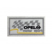 0594Embroidered patch 7X4.5 OPEL MOTORSPORT