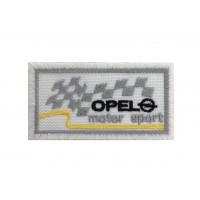 0594 Patch écusson brodé 7X4.5 OPEL MOTORSPORT