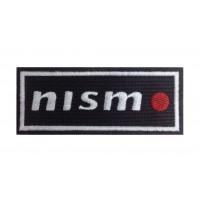0624 Patch écusson brodé 10x4 NISMO Nissan Motorsport