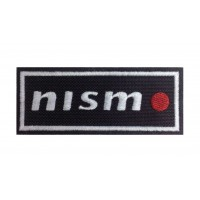 0624 Patch emblema bordado 10x4 NISMO Nissan Motorsport