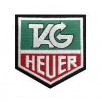 0316 Patch emblema bordado 8x8 TAG HEUER
