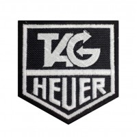 0459 Patch emblema bordado 8x8 TAG HEUER
