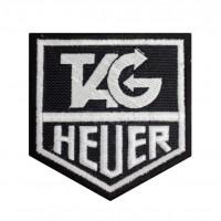 0459 Patch emblema bordado 8x8 TAG HEUER