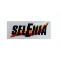 1283 Embroidered patch 10x4 SELENIA