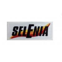 1283 Patch emblema bordado 10x4 SELENIA