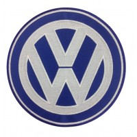 0564 Embroidered patch 22x22 VW VOLKSWAGEN