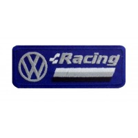 1286 Embroidered patch 9X3 VW VOLKSWAGEN RACING