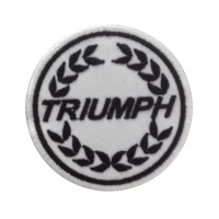 1287 Embroidered patch 7x7 TRIUMPH