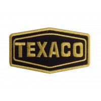1112 Patch écusson brodé 10x6 TEXACO