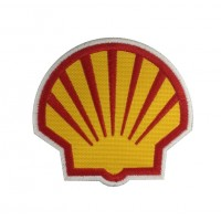 1070 Parche emblema bordado 6X6 SHELL