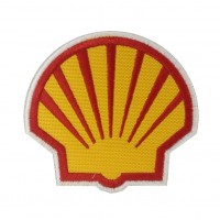 1071 Patch emblema bordado 8x8 SHELL