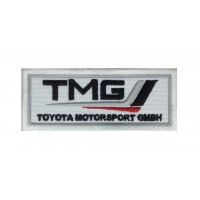 1292 Embroidered patch 10x4 TMG TOYOTA MOTORSPORT GMBH