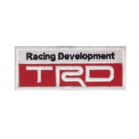 1293 Patch emblema bordado 10x4 TRD TOYOTA RACING DEVELOPMENT