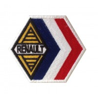 0329 Embroidered patch 9x7 RENAULT FRANCE ALPINE GORDINI RACING