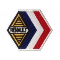 0329 Patch emblema bordado 9x7 RENAULT FRANCE ALPINE GORDINI RACING