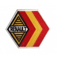 0669 Patch emblema bordado 9x7 RENAULT ESPANHA ALPINE GORDINI RACING