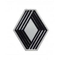 0667 Patch emblema bordado 7X8 RENAULT 1972 LOGO