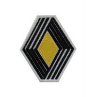 0666 Patch emblema bordado 7X8 RENAULT 1972 LOGO