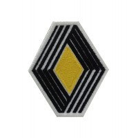 0666 Embroidered patch 7X8 RENAULT 1972 LOGO