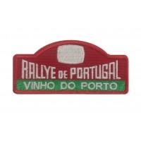 1296 Embroidered patch 10x4 RALLY PORTUGAL VINHO DO PORTO