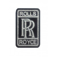 1297 Embroidered patch 9x5 ROLLS ROYCE