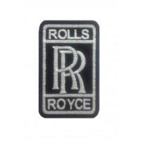 1297 Patch écusson brodé 9x5 ROLLS ROYCE