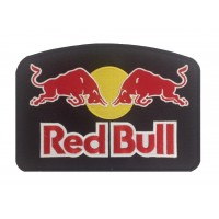 1298 Embroidered patch 24x17 RED BULL