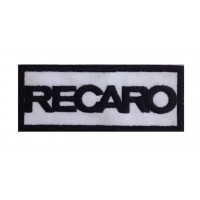 0217 Embroidered patch 10x4 RECARO