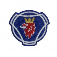 0969 Patch emblema bordado 6x5 SCANIA