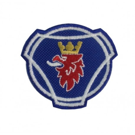 0969 Embroidered patch 6x5 SCANIA