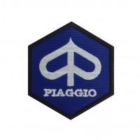 0192 Embroidered patch 8x8 PIAGGIO VESPA