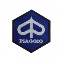 0192 Patch emblema bordado 8x8 PIAGGIO VESPA