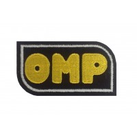 0381 Patch emblema bordado 8x4 OMP