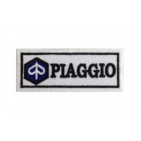 0482 Patch emblema bordado 10x4 PIAGGIO