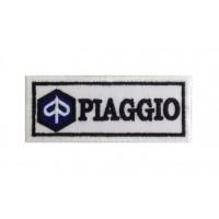 0482 Embroidered patch 10x4 PIAGGIO