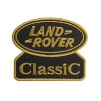 0584 Patch écusson brodé 9x7 LAND ROVER CLASSIC