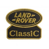 0584 Embroidered patch 9x7 LAND ROVER CLASSIC