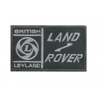 1302 Patch emblema bordado 10x6 LAND ROVER BRITISH LEYLAND
