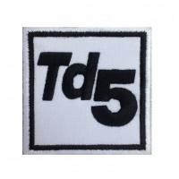 0215 Patch écusson brodé 7x7 TD5 LAND ROVER