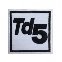0215 Patch écusson brodé 7x7 TD5 LAND ROVER