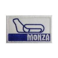 1303 Embroidered patch 7x4 CIRCUIT MONZA ITALY