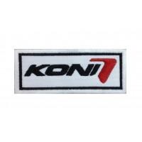 0621 Patch emblema bordado 10x4 KONI