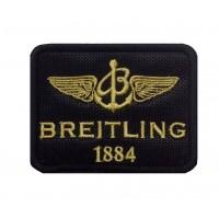 1308 Patch écusson brodé 8x6 BREITLING 1884