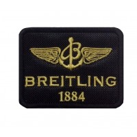 1308 Patch écusson brodé 8x6 BREITLING 1884