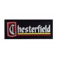 1309 Embroidered patch 10x4 CHESTERFIELD