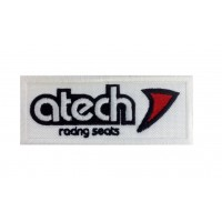 1313 Embroidered patch 10x4 ATECH RACING SEATS