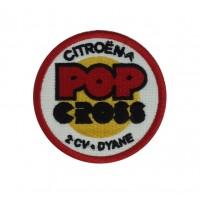 1316 Patch emblema bordado 7x7 CITROEN POP CROSS 2CV DYANE