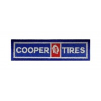 1320 Embroidered patch 11X3 COOPER TIRES