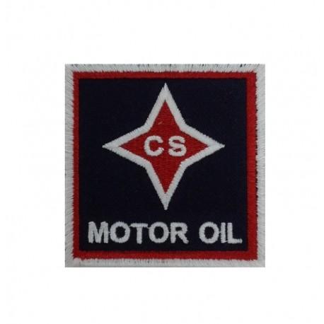 1321 Patch emblema bordado 7x7 CS MOTOR OIL