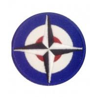 1323 Patch emblema bordado 7x7 BRM BRITISH RACING MOTORS